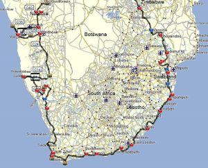 Südafrika Tracks