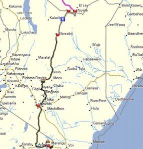 Kenia Tracks