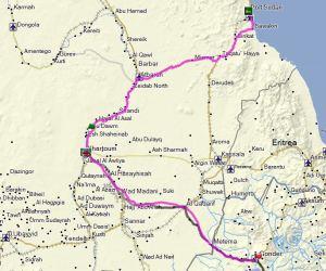 SudanTrack+Route