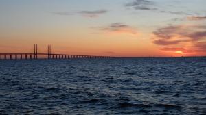 SAM_1242 Malmö Sonnenuntergang