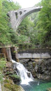 Busausflug zum Wasserfall