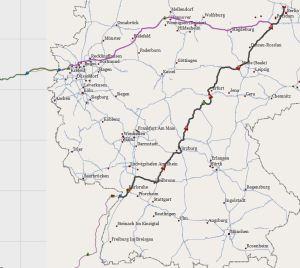 Route Deutschland