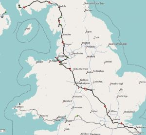 Route England